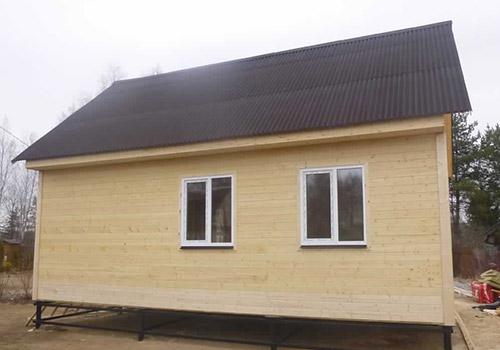 Одноэтажный каркасный дом 6х9 - внешний вид 2