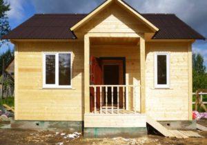 Каркасный дом 6х7 одноэтажный - внешний вид 3